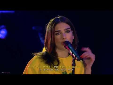 Dua Lipa - IDGAF Live (Subtitulado Ingles - Español)