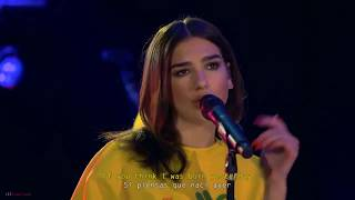 dua lipa idgaf lyrics