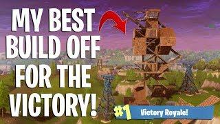 INSANE BUILD BATTLE FOR THE VICTORY! - Fortnite Battle Royale