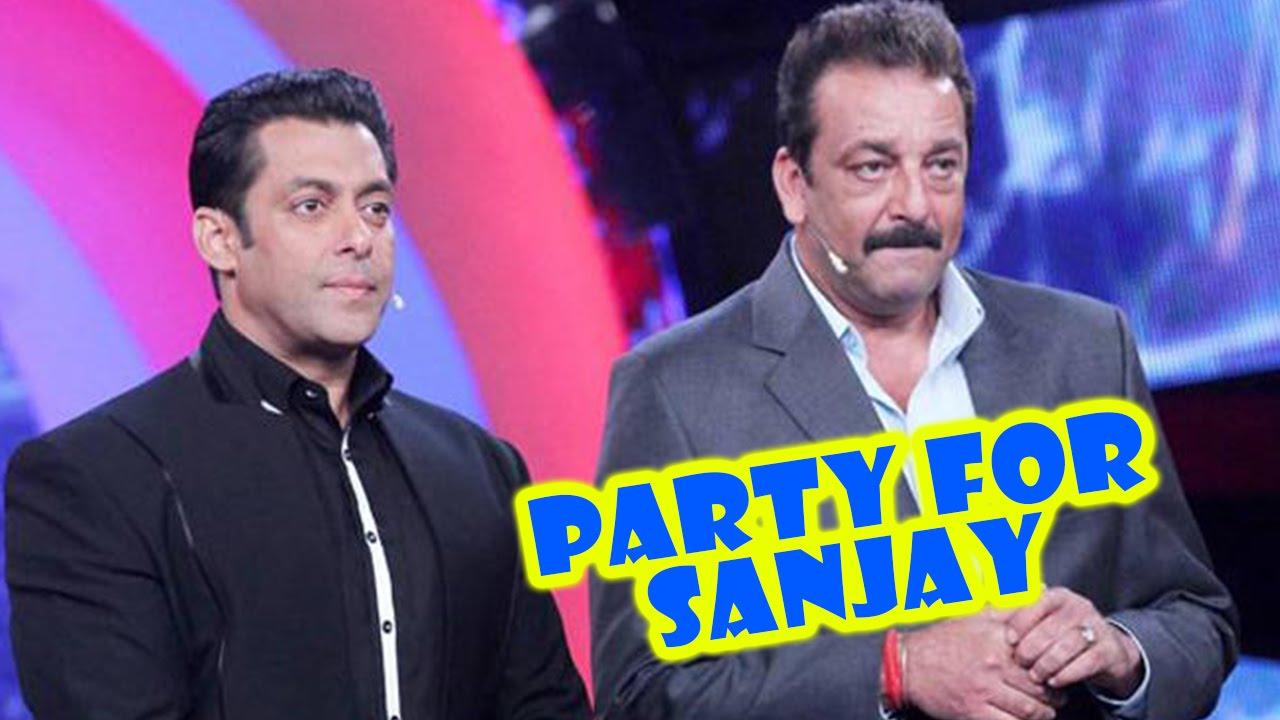 'Salman Khan Throw A PARTY For Sanjay Dutt After Release ...