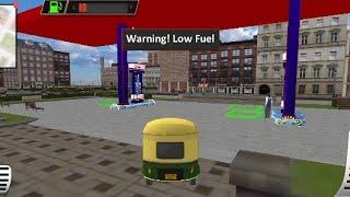 modern Tuk Tuk Rickshaw Driving- City mountain Auto Driver Android Game play #3 screenshot 5