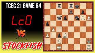Schach vom anderen STERN ⭐️ || Stockfish vs. LCZero || TCEC Season 21 Superfinale (Partie 64)