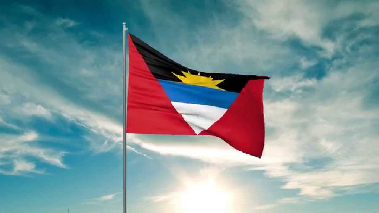 Flag of Antigua and Barbuda 3D max animation HD  YouTube
