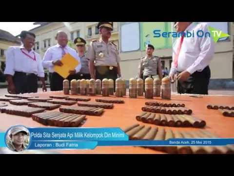 Polda Aceh Sita Senjata Api Milik Kelompok Din Minimi