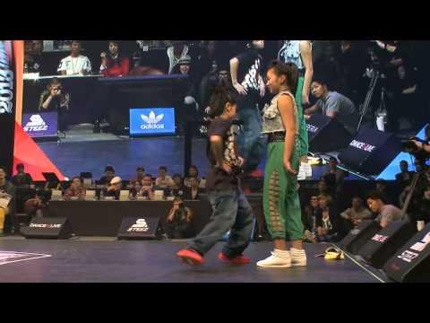 YUMEKI vs AYUNA DANCE@LIVE 2013 JAPAN FINAL KIDS【FINAL】