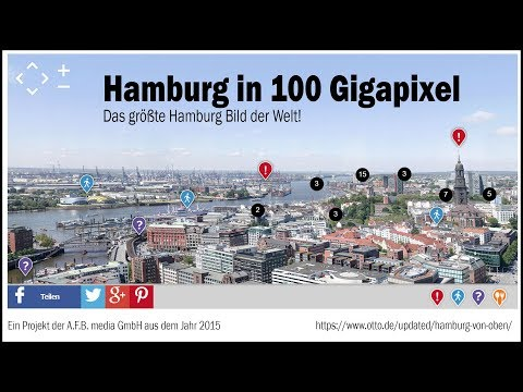 Hamburg 100 Gigapixel Bild - Making Of