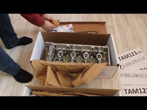 Головка блока цилиндров ЗМЗ, 405, 406, 409, евро