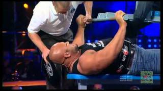 Shane Crawford's GUINNESS WORLD RECORD - Most Bench Pressed