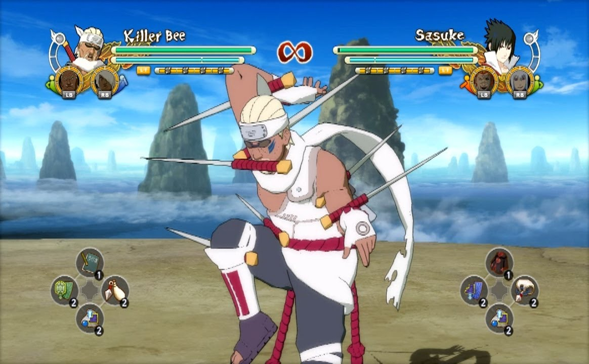 Naruto Ultimate Ninja Storm 3 Killer Bee (Seven Swords ...