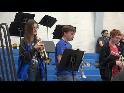 Hermann High School Jazz Band