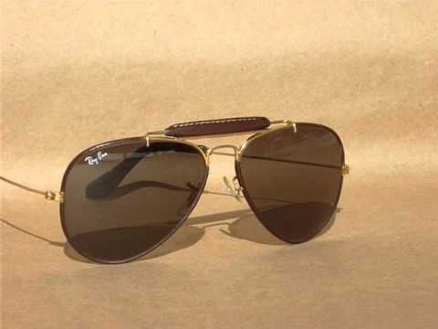 2339aa4625 Bausch & Lomb Ray-Ban AMBERMATIC lens darkening demonstration.wmv - YouTube