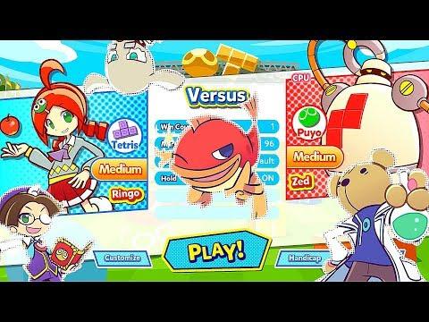 Puyo Puyo VS Tetris Battle - Wicked Funny Puzzle Game