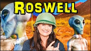 Roswell UFO Museum Alien Extraterrestrial Overload [New Mexico UFO Museum Tour]