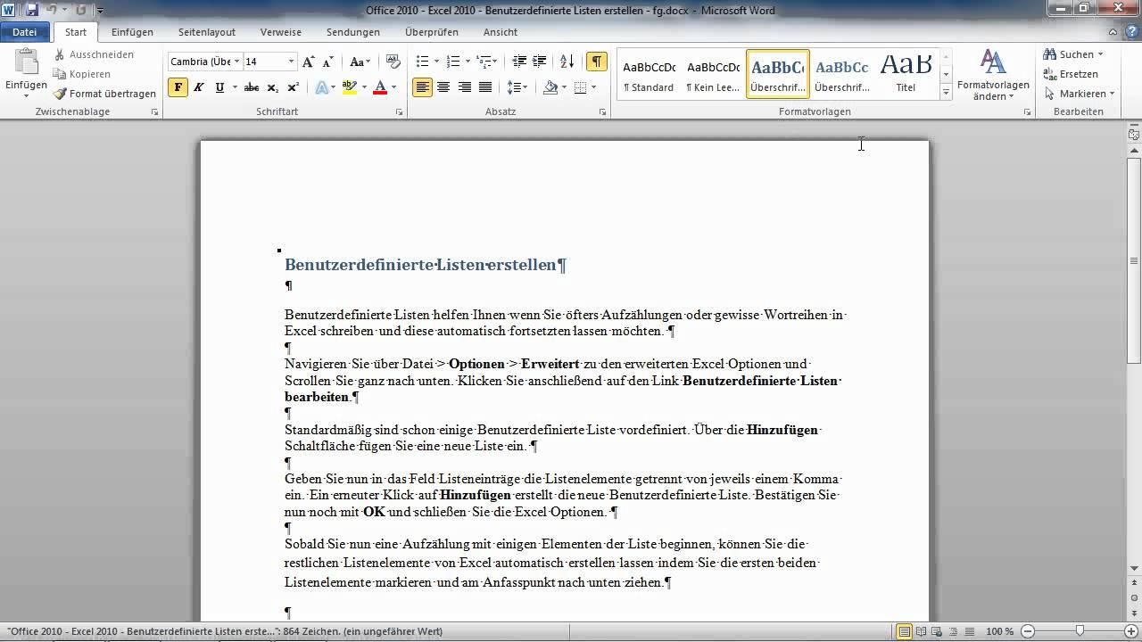 wie man eine ganze Seite in Word kopiert