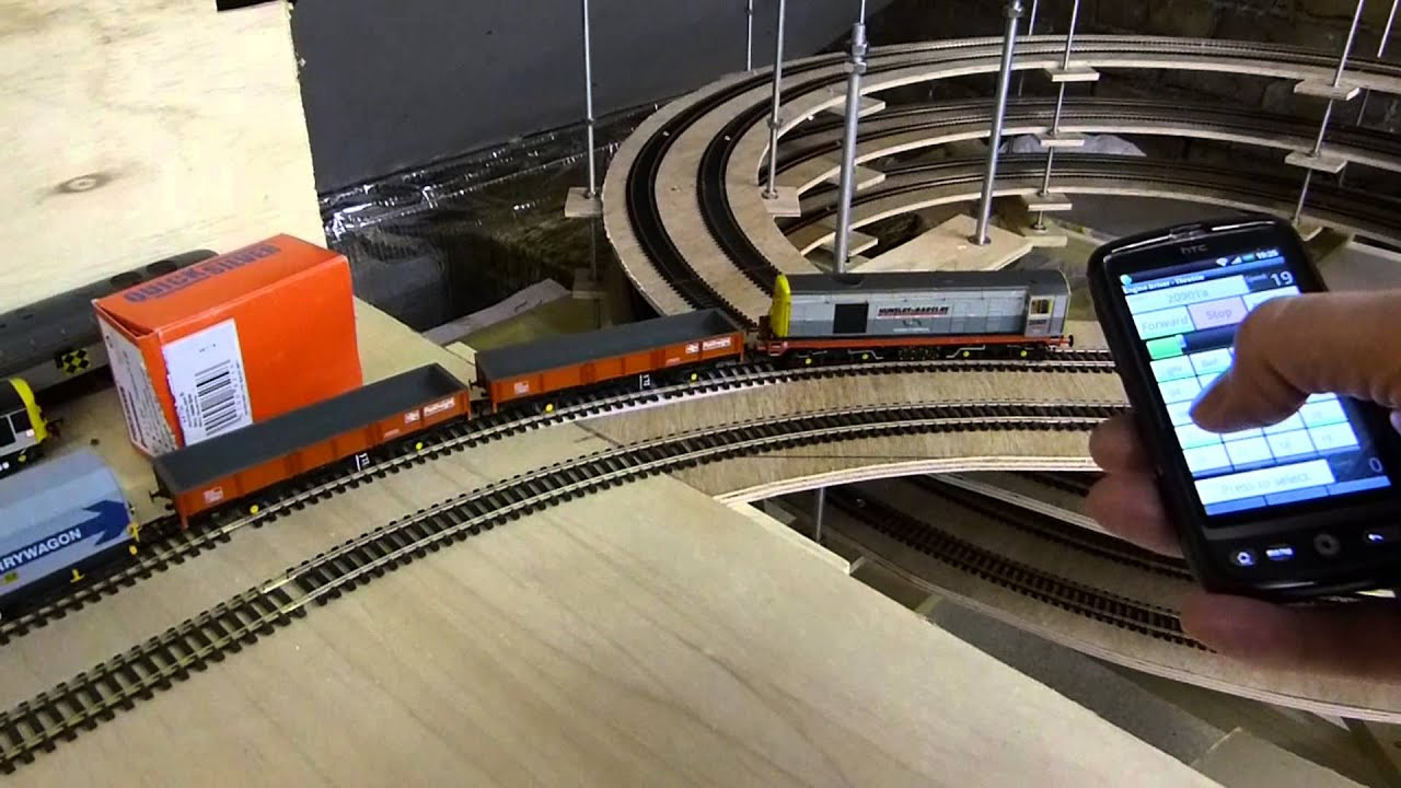 Controlling your Model Trains from Cell Phone/Tablet with DCC