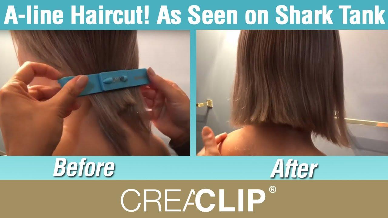 A-line Haircut! As Seen on Shark Tank CreaClip