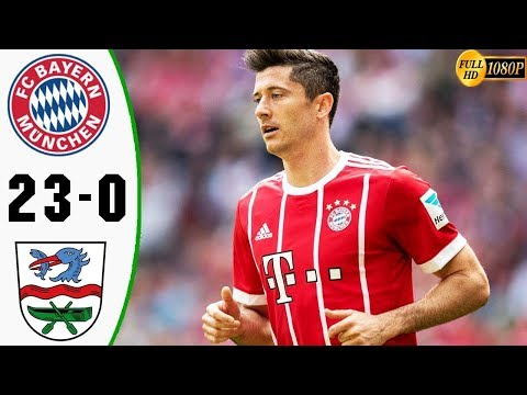 Bayern Munich Vs Rottach-Egern 23-0 All Goals \u0026 Highlights 08/08/2019 HD