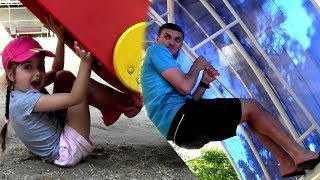 Hide and seek spot at Indoor Playground for kids