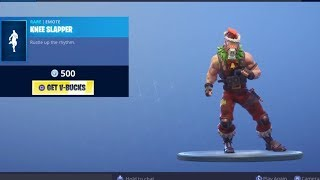 FORTNITE KNEE SLAPPER EMOTE | BURNOUT SKIN & SUSHI MASTER