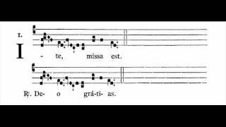 Missa IX (Cum jubilo) - Ite missa est