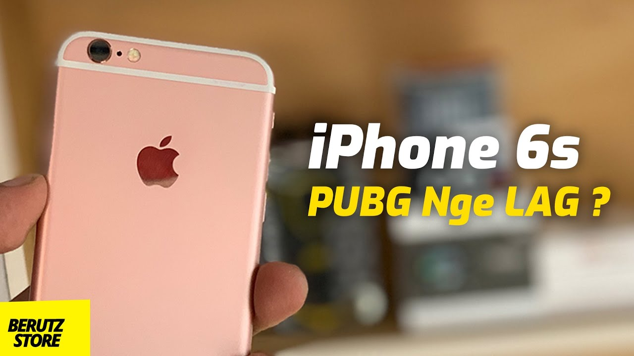 Review iPhone 6s di Tahun 2020 - Test Main PUBG Mobile