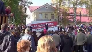 Віталій Кличко у Носівці
