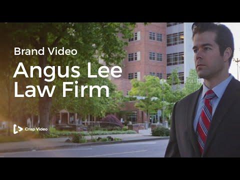Angus Lee Law - Legal Brand Video - Crisp Video Group