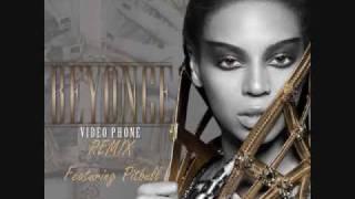 beyoncé video phone remix featuring pitbull