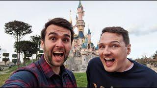 NEW Disneyland Paris Vlog | Day 1 | Eurostar Premier and Newport Bay | February 2020 | Adam Hattan