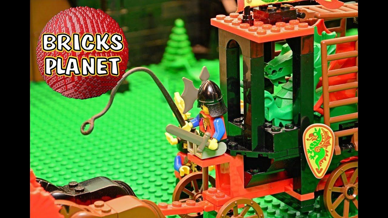 Dragon Wagon 6056 LEGO Castle - Review, Stop Motion, Time-Lapse Build -  YouTube