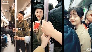 Các thánh lầy sẽ làm gì khi đi tàu điện ngầm? | Cười văng hột mụn| tik tok tq | Lầy channel