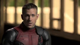 "Deadpool: Ryan Reynolds ""Deadpool"" Behind the Scenes Movie Interview"
