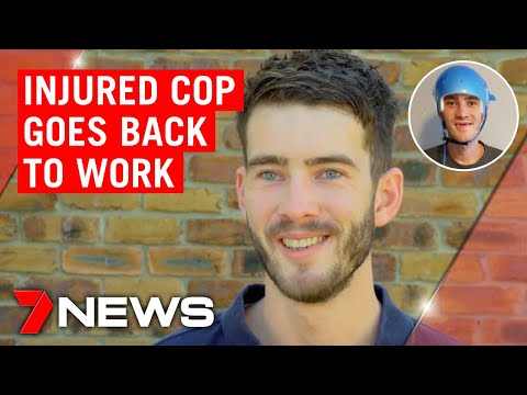 Queensland Cop Left For Dead Goes Back To Work | 7NEWS