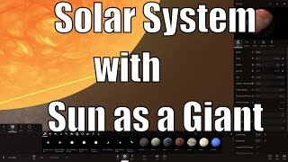 Solar System When Sun Becomes a Red Giant - Where Will We Live? - Universe Sandbox²