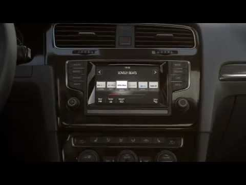 vw volkswagen golf 7 radio and multimedia youtube. Black Bedroom Furniture Sets. Home Design Ideas
