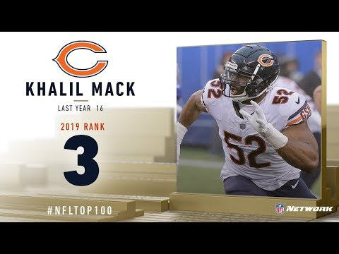 #3: Khalil Mack (LB, Bears) | Top 100 Players Of 2019 | NFL
