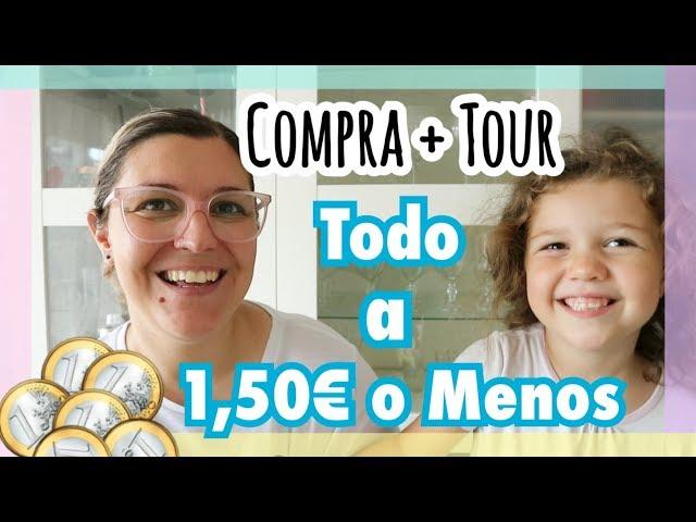 COMPRA SEMANAL TODO A 1 EURO | Supermercado Todo a 1.50