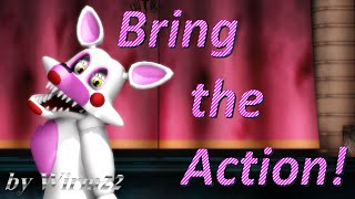 [MMD FNAF] Mangle - Bring the Action! part1