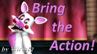 [MMD FNAF] Mangle - Bring the Action! part1