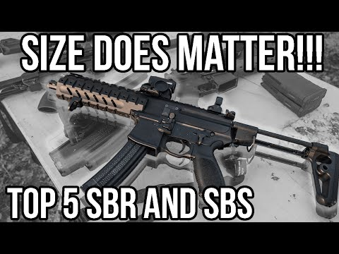 Top 5 Short Barrel Rifles: SIZE DOES MATTER (+Obama's ATF 41P Executive Order)