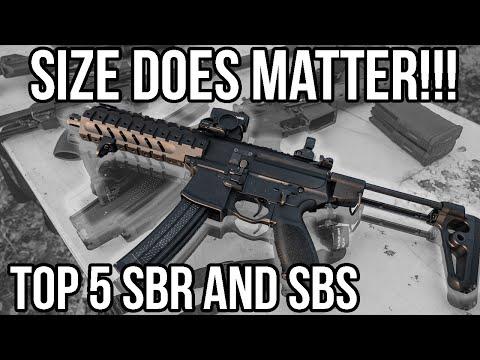 Top 5 Short Barrel Rifles: SIZE DOES MATTER (+Obama's ATF 41P Executive Order)