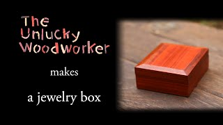 Just a couple days before a Saturday that I had a flight to Beijing, I decided to make a jewelry box for the necklace I was giving to