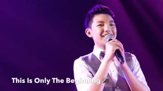 This Is Only The Beginning (The APEC THEME SONG 2015) by Darren Espanto