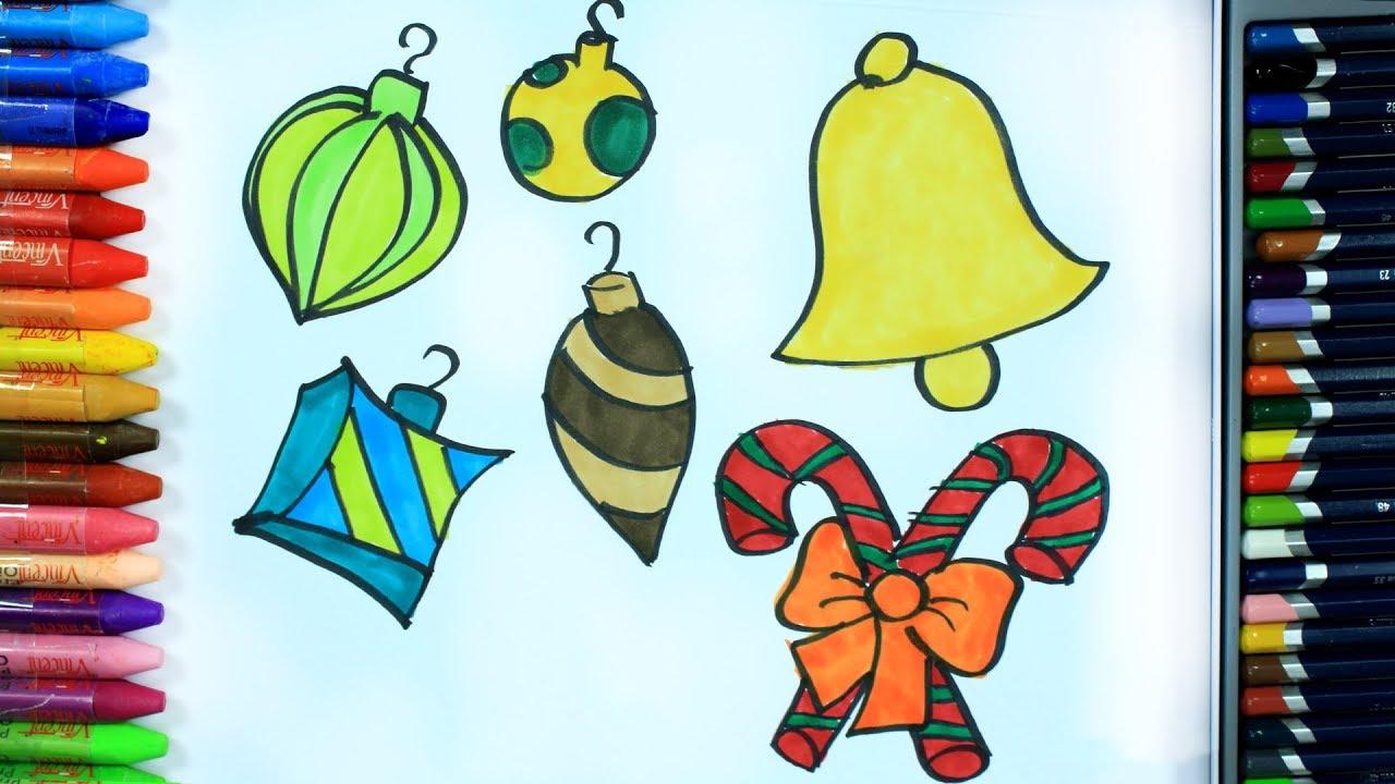 Cara Menggambar Ornamen Natal Cara Menggambar Dan Mewarnai TV Anak