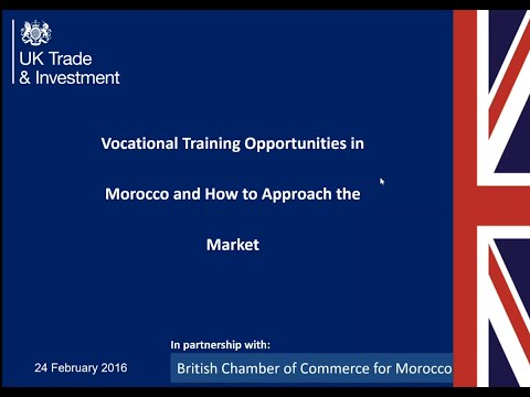 Education and Vocational Training in Morocco