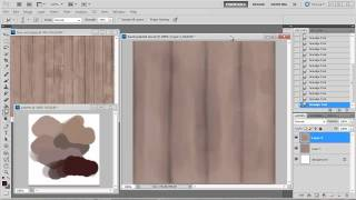 Hand Painting A Tileable Wood Texture