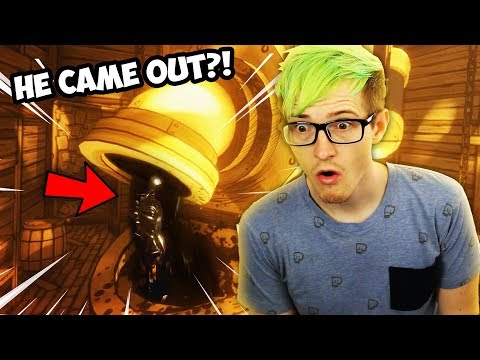 HACKING TO THE NEW INK MACHINE BENDY COMES OUT?! | Bendy And The Ink Machine Chapter 4 Secrets