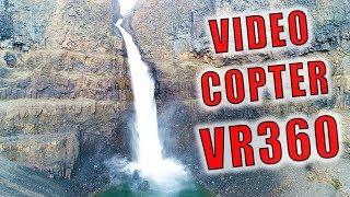 Video 360 Copter! Панорамное Видео 360 С Коптера! Самый Высокий Водопад России! Водопад Р. Канда