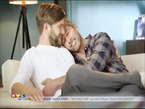 RTL SMSchat (2014) -- Schwul | Gay Themed TV Advertising