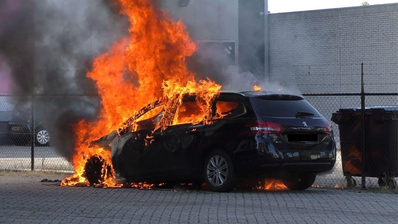 Brandweer Berghem Met Spoed Naar Autobrand Op De Galliersweg In Oss Youtube